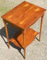 Yew Occasional Table by Bradley